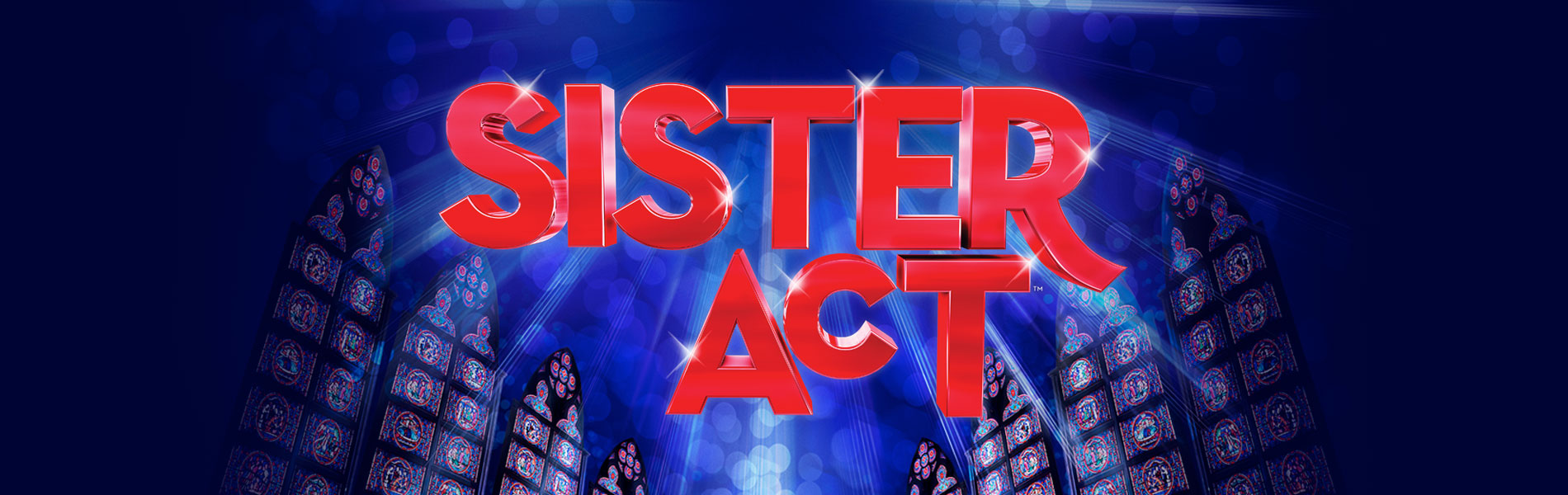 Sister Act play banner