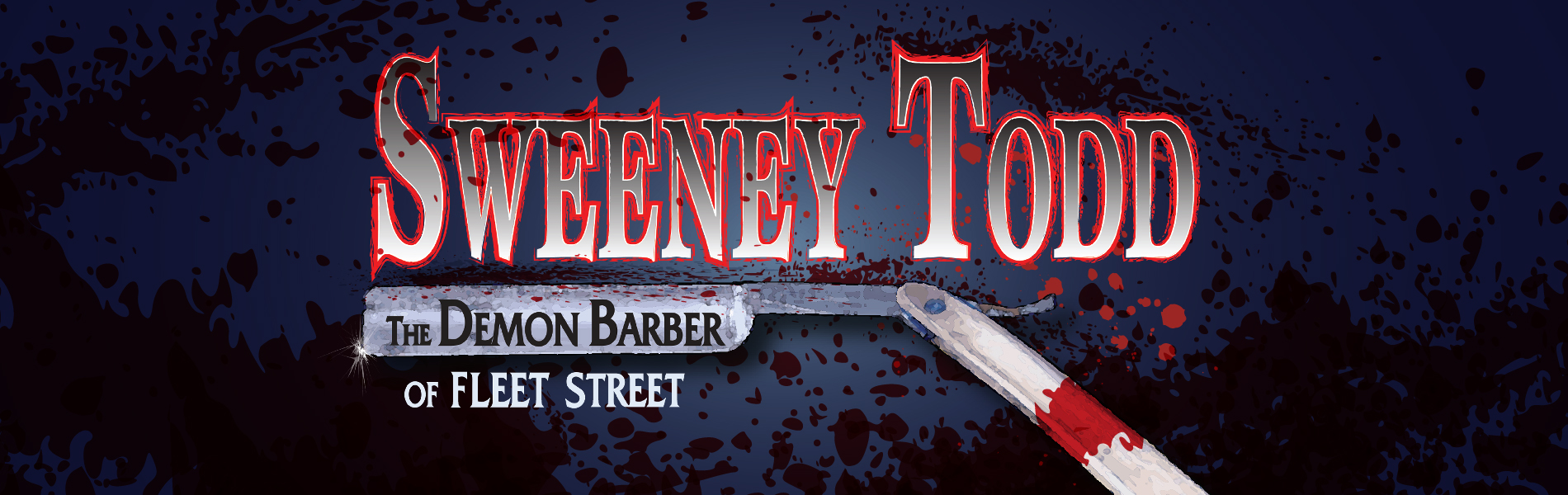sweeney todd play banner