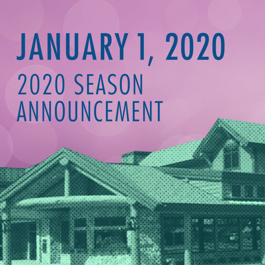 Season Announcement for 2020