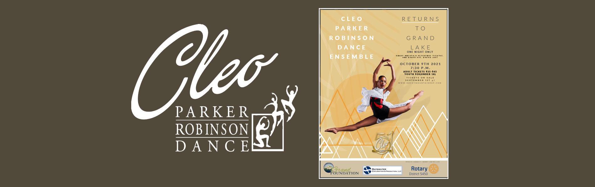 Cleo Robinson Dance Banner